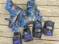 INLINE ROLLER BLADES UK SIZE 6 EUR 39 GREAT CONDITION