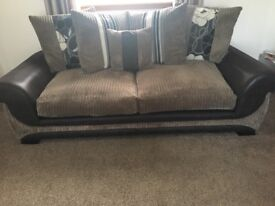 3 Seater Sofa and Snuggle Chair