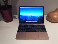 Macbook - Rose Gold - 2016 Model