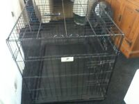 Dog Cage and Dog Carrier Case - £30 all in
