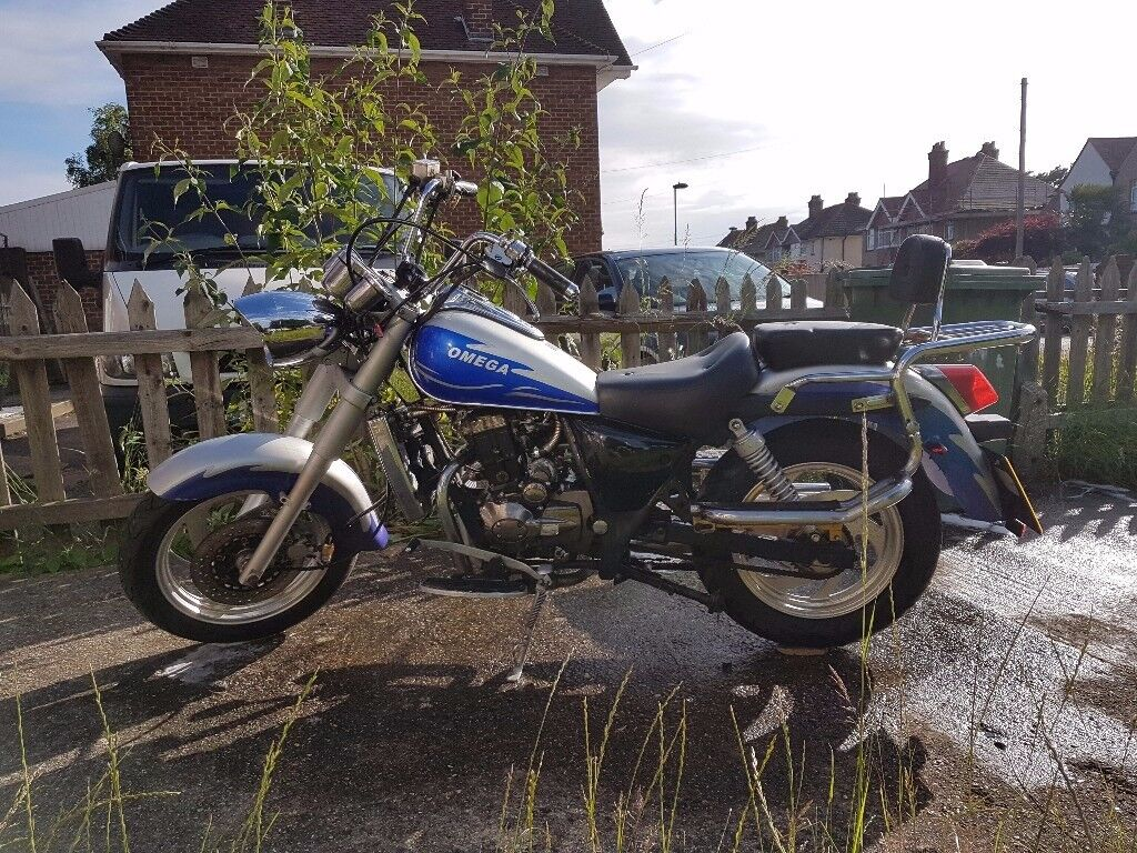 LIFAN 125cc OMEGA CRUISER Very low milage