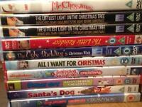 10 Christmas dvds