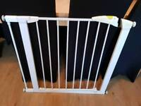 Mothercare pressure fittings stair gate with extension