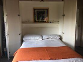 Hideaway double bed / folds into wardrobe / Murphy bed