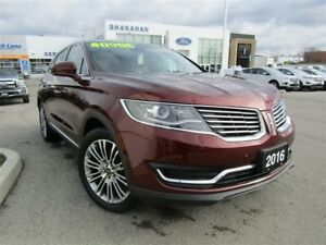 2016 Lincoln MKX Reserve | AWD | HEATED SEATS/ STEERING WHEEL |