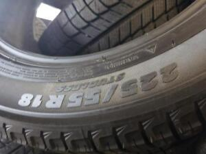 2 winter tires Michelin x ice 225/55r18