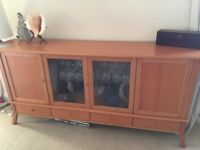 Dining Table, 4 Chairs and Sideboard