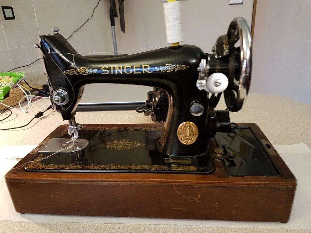 1948 singer sewing machine    in East Kilbride, Glasgow   Gumtree