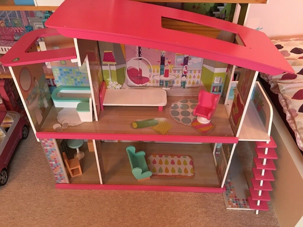 Elc barbie style wooden house