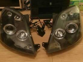 MK6 fiesta headlights
