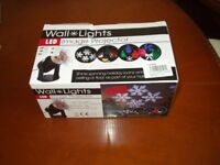Indoor image projector with various themes christmas birthday etc