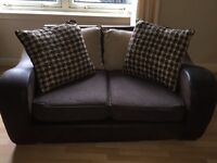 2&3 seater suede fabric couch
