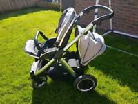 Oyster max tandem pushchair double