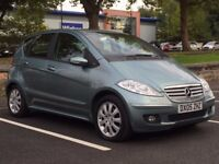MERCEDES A200 ELEGANCE SE 2005(05 REG)*AUTOMATIC*LONG MOT*LEATHER INTERIOR*PX WELCOME*DELIVERY