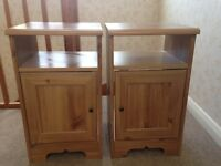 Two Ikea Bedside Tables