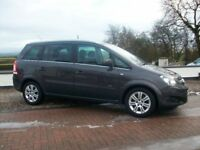 2013 VAUXHALL ZAFIRA DIESEL 7 SEATER 60000 MILES