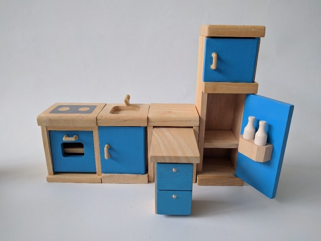 Plan toys dollhouse furniture kitchen