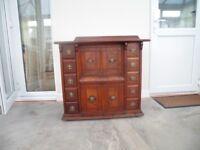 Vintage vintage Parlour Cabinet 28k Singer sewing machine