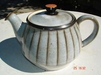 Denby studio teapot.