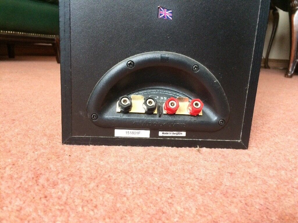 Pair of Kef Q 35.2 Floor Standing Speakers in good condition with grilles.  Can be