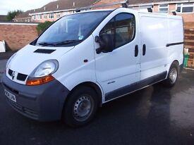 2004 Renualt traffic No VAT excellent condition owner partly retiring MOT this week