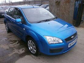 2005 FORD FOCUS 1.6 LX, 5DOOR, BLUE, VERY CLEAN CAR, DRIVES VERY NICE. CHEAP CAR, SERVICE HISTORY