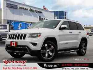 2015 Jeep Grand Cherokee ***LIMITED***LEATHER***ROOF***NAVIGATIO