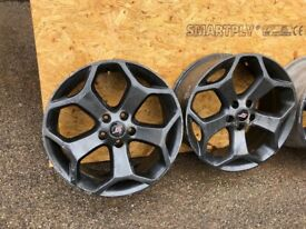 Focus ST alloy wheels
