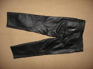 Women's Lined Leather Pants Campbell River Comox Valley Area image 2