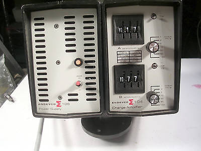 Endevco Power Supply Charger Model 109  104 Good