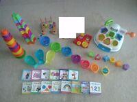 Bundle of baby toys - little tikes, mothercare, books, bath toys