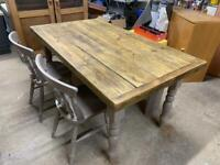 Dining table farmhouse