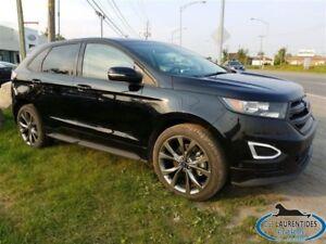 2016 Ford Edge AWD SPORT 2.7 L / TOIT PANO / NAV / JANTES 21PO