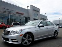 2012 Mercedes-Benz E350 4Matic Nav Leather PanoSunroof Attn Assi