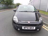 2010 FIAT PUNTO 1.4 EVO 5 DOOR LOW MILEAGE NEW MOT CHEAP TO RUN GREAT CONDITION
