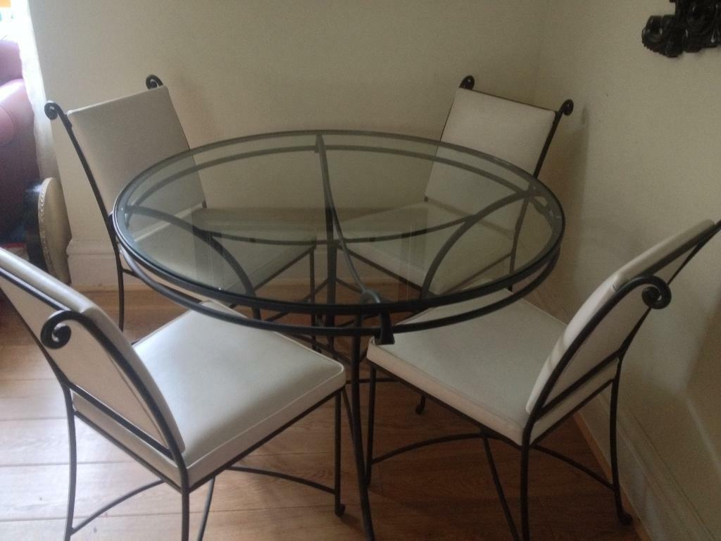Marks And Spencer Kitchen Furniture Marks Spencer Table Chairs Solid Wrought Iron Glass Table