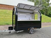 Type-Approved Mobile Catering Trailer Burger Van Bar Coffee Crepe Sweet Trailer