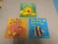 Set of 3 pop up books