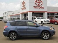 2012 Toyota RAV4 Sport V6 (A5) with leather, 1 Local Owner