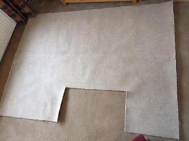 Brand new beige carpet 2.35m x 1.32m