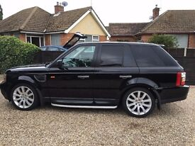RANGE ROVER SPORT 2.7 TD V6 HSE, NEW TURBO JUST FITTED,
