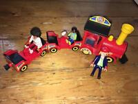 Playmobil - Train and Paramedic
