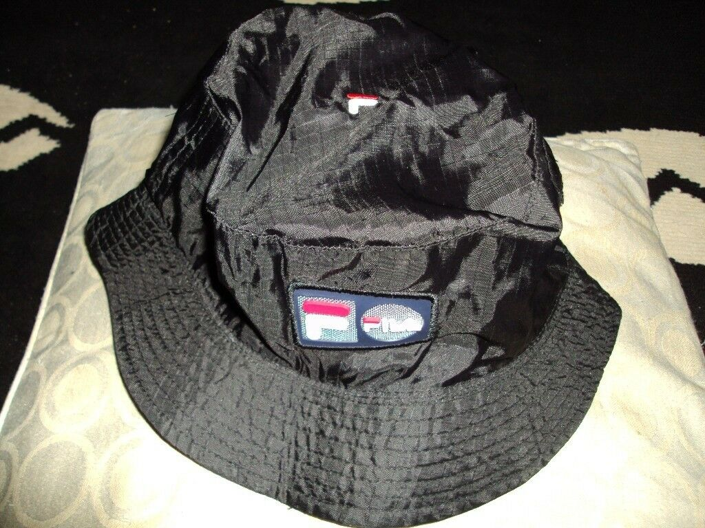 e882fbc5 vintage fila bucket hat polyester festival hat | in Sandwell, West ...