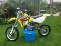 Suzuki rm85 great mx bike 2009 all in very good condition....great bike