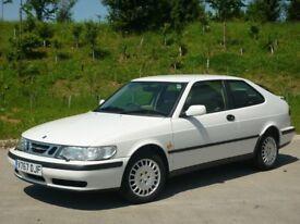 Pristine 1999 Saab 93 Coupe