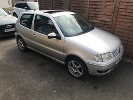 2000 VW polo MOT due 03/07/1019 great first car