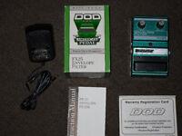 DOD FX25 Envelope Filter guitar pedal