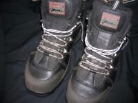 PAIR OF VIRTUALLY NEW HEAVY DUTY TOMCAT WORK or WALKING BOOTS size 11