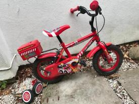 Children's bike - toddler with removable stabiliser