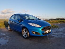Ford Fiesta 1.0 EcoBoost Zetec 5dr, 2013, 21,400 miles, £0 Tax/yr, Serviced: 1.Dec.17, 4 new tires